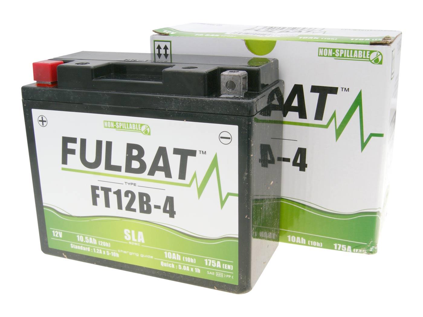 batterie fulbat ft12b 4 sla. Black Bedroom Furniture Sets. Home Design Ideas