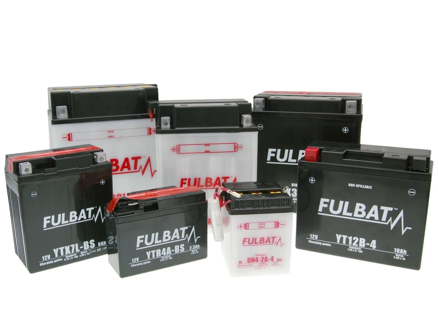 fulbat batterie sortiment motorrad roller quad atv. Black Bedroom Furniture Sets. Home Design Ideas