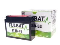 Batterie Fulbat FT4B-BS MF wartungsfrei