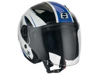 Helm Speeds Jet City II Graphic weiß / blau glänzend
