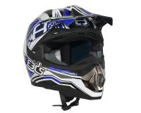 Helm Speeds Cross II Graphic blau
